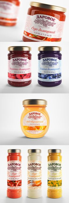 Package Design for the jams, sauces and honey. Inspiration of Package design. Дизайн упаковки для соусов, меда, джема. #package #design