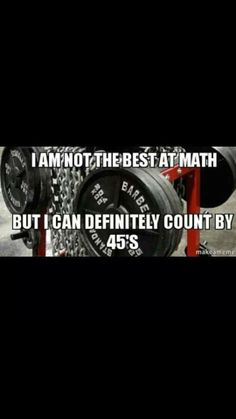 You know you're a gym rat when you know your 45 times table ; Lifting Motivation, Fitness Motivation Quotes, Fitness Humor, Funny Fitness, Workout Motivation, Funny Gym, Hilarious, Workout Memes, Gym Memes