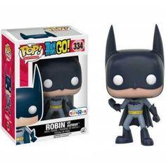 Funko Pop! Robin as Batman Teen Titans Go Vinyl Figure