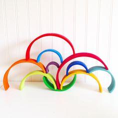 De regenboog van grimms. Zo mooi! wood | toys | for the kids