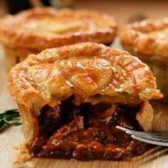 A filling and hearty beef pie.