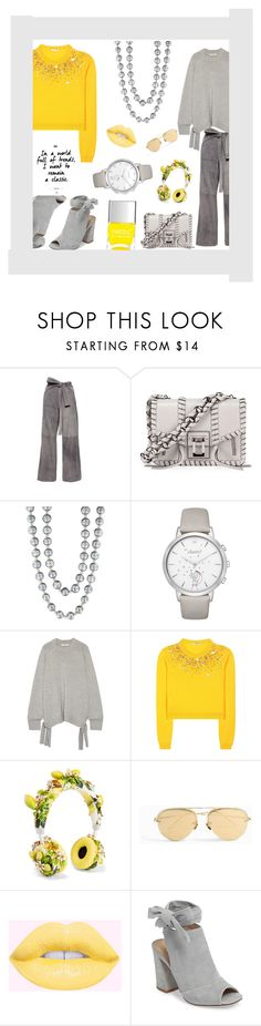 """Untitled #50"" by jilllittlefox ❤ liked on Polyvore featuring Kaelen, Proenza Schouler, Effy Jewelry, Kate Spade, TIBI, Miu Miu, Dolce&Gabbana, Linda Farrow, Kristin Cavallari and Nails Inc."