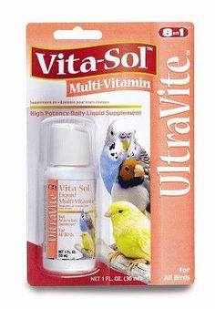 BIRD - HEALTH - VITA SOL MULTI VITAMIN 1OZ CRD - - UPG-COMPANION ANML EDWRDSVILLE - UPC: 26851003120 - DEPT: BIRD PRODUCTS