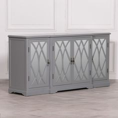 Tv Cupboard, Cabinet, Mirrored Sideboard, Sideboard Furniture, Mirror Tv, Country Style, Storage, Grey, Colonial