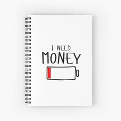 I need money blank page books! Need Money, Finding Yourself, Classic T Shirts, Notebook, Books, Livros, Book, Soul Searching, Livres