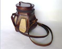 Pineapple Bag, Pineapple Moon, Festival Cross Body Bag, Leather & Jute Purse | eBay