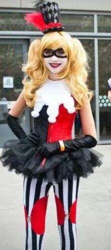 Harley Quinn cosplay costume Comic Con 2014