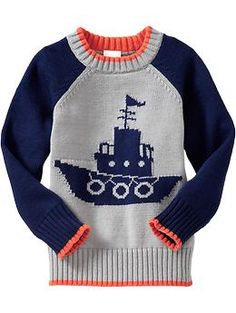 Tugboat-Graphic Sweaters for Baby | Old Navy
