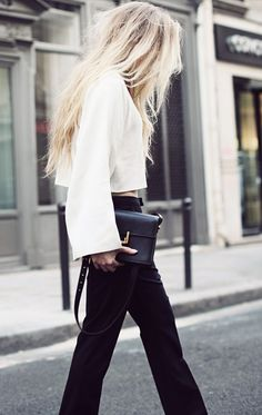 Black and White. Fashion. Street. Style. Chic. Modern