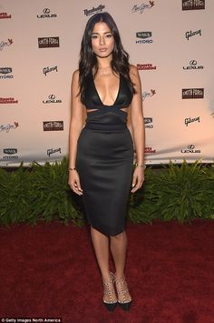 Big gig: Jessica Gomes has been announced to be starring in a 2016 action film across Bruce Willis