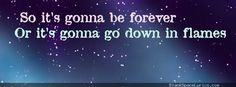 TAYLOR SWIFT Lyrics Generator -   Blank Space Quotes:  So it's gonna be forever Or it's gonna go down in flames You can tell me when it's over If the high was worth the pain