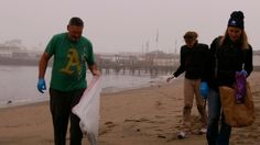 Volunteers Clean Up Junk, Plastic From Aquatic Park Beach in San Francisco For Third Time Following Super Bowl Fireworks Show | NBC Bay Area