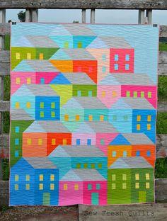Hillside Houses QAL finish