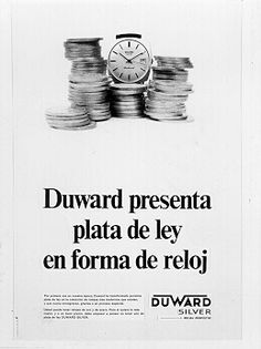 Relojes Duward Serie Silver 1966