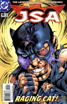 Not DeNiro: Wildcat in his true identity is a boxer who, counted out in the ring, takes the fight to the streets (inspired by the square circles of comic book panels).