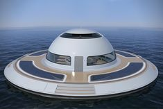 U.F.O. Floating Home 2.0 by Jet Capsule