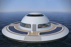 U.F.O. Floating Home 2.0 by Jet Capsule