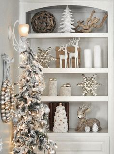 White and naturals - Christmas