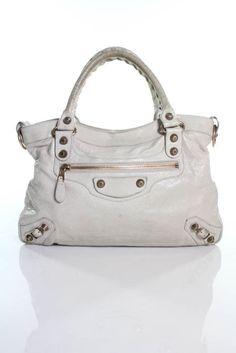 64edd32fb1 Balenciaga Paris Beige Gold Tone Leather Mini City Satchel Handbag  mini   city  satchel
