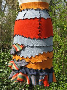 Tamara Embrey; up-cycled, recycled, and refashioned clothing