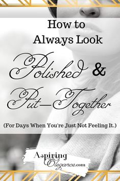 Do you ever have days when you're just NOT feeling it? Learn how how you can feel polished and put-together, even when you're having a bad day! Beauty Kit, Beauty Hacks, Hair Beauty, Beauty Regimen, Oily Hair, Best Moisturizer, Puffy Eyes, Pink Lipsticks, Fake Eyelashes