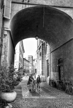 Per le strade di Ravenna....