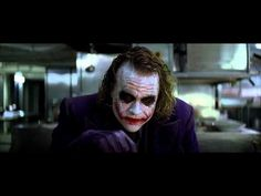 """Heath Ledger -- The Joker   """"If you're good at something, never do it for free."""""""