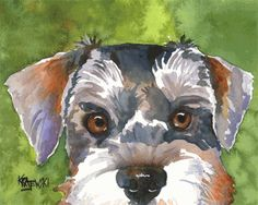 my beeb. portrait by ron krajewski ( Go on his website - you will probably see an incredible likeness of your dog or cat ! )
