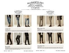 Buckle Jeans Style Chart - 100 best jeans images on pinterest ...