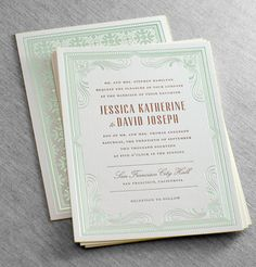Hamilton #wedding #invitation suite by Dauphine Press (available at You're So Invited! Westwood NJ)