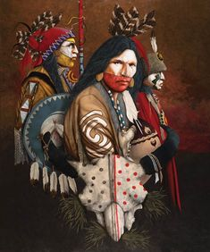 Art for sale from artist JD Challenger - Way Of The Warrior. Native American Paintings, Native American Pictures, Native American Beauty, Native American Artists, American Indian Art, Native American Indians, Native Americans, Indian Paintings, American History