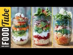 Pasta Salads In A Jar | Back-To-School Lunch Idea - YouTube