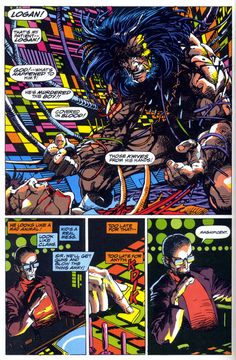 Weapon X Panel by Barry Windsor-Smith Art by Barry Windsor-Smith  One of the best X-Stories ever.