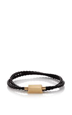 18K Yellow Gold Choker Bracelet - Bulliony Resort 2016 - Preorder now on Moda Operandi
