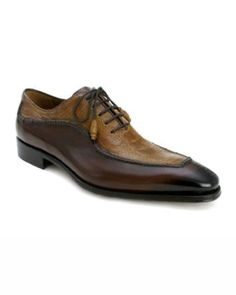 men's brown dress shoes | buy Vespa Brown/ Camel Low Top Dress Shoe by  Mezlan