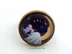 Anillo la luna de La Tienda Vintage de Kima por DaWanda.com