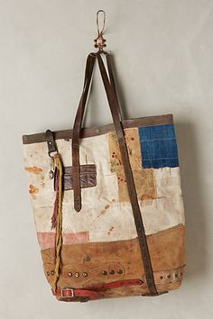 One-of-a-Kind Illusionist Travel Tote by J. Augur Design