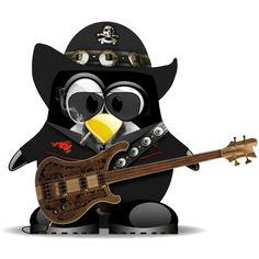 Tux Lemmy Motorhead