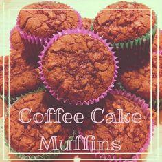 Coffee Cake Muffins shared by kjean_tiu! She used the Tone It Up Coffee Cake Mug Cake recipe on the blog and tripled the batter.