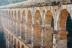 Devils Bridge Tarragona Spain II Photograph by Joan Carroll
