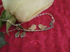 FREE SHIPPING  Birds necklaces pendant от BorowskiStore на Etsy