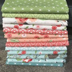 Nest Fabric Bundle by Lella Boutique from Moda