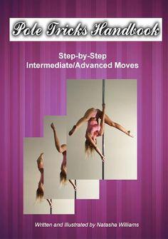 Pole Tricks Handbook - Training eBook Pole Dancing Fitness, Pole Fitness, Pole Dance Studio, Pole Tricks, Home Remedies, Whitening, Training, Tips