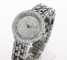 Find More Wristwatches Information about Brand New  Japan Miyota 2035 Movement Platinum and Ionic 14K Gold Plating Czech Crystals Dial Women Dress Party Wrist Watches,High Quality Wristwatches from ASM Fashion Jewelry on Aliexpress.com