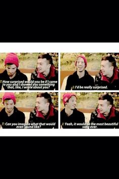 ...*ahem* tear in my heart *ahem* ... Yes Josh it would be the most beautiful song ever....