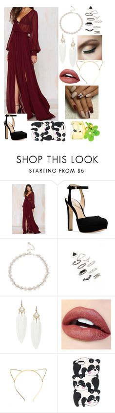 """Ariana Grande Inspired"" by sunshine-laur ❤ liked on Polyvore featuring Olivaceous, Michael Kors, Lipsy, Topshop and Marc Jacobs"