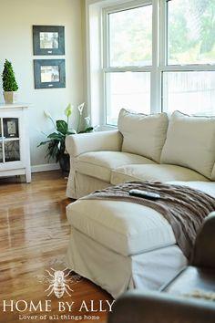Ikea Ektorp Sofa in Tyglesjo Beige