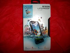 $29.99 HALF PRICE! new AUTHENTIC Lifeproof Nuud GALAXY S4 WATERPROOF CELL PHONE Case  Cover Skin #LifeProof