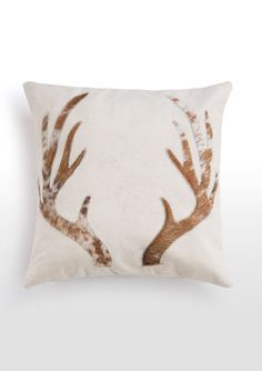 Glencoe Antler Cushion. £25. MADE.COM