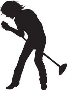singer silhouette - Recherche Google